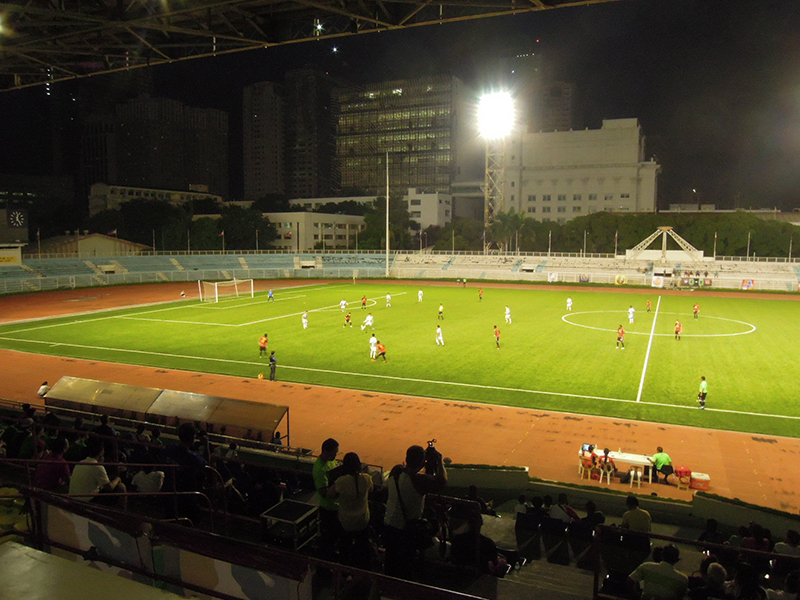Rizal Memorial Stadium unveils a new artificial pitch