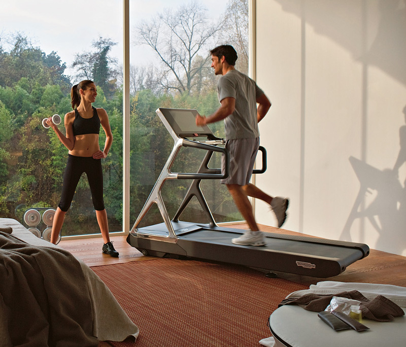 Technogym's Run Personal machine revolutionizes treadmills by providing a host of new features.