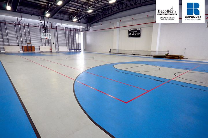 Decoflex Seamless Indoor Sports Floor at Unilab Philippines.