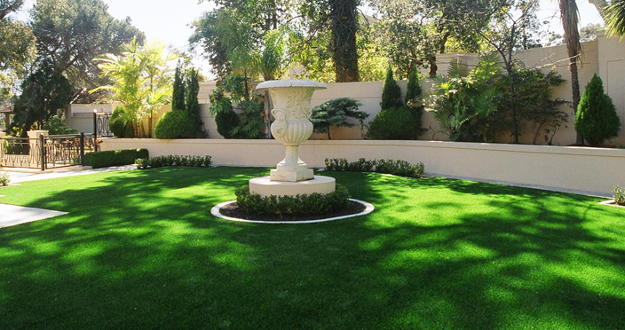 Artificial grass is becoming the go-to choice for landscapes.