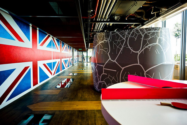 Google Office, Soho, London