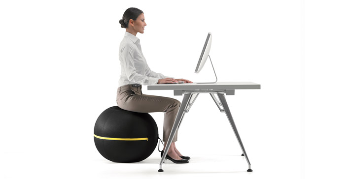 Lose weight while you're productive with Technogym's Active Sitting Wellness Ball.