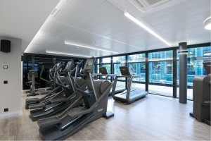 Technogym treadmills are both sleek and effective