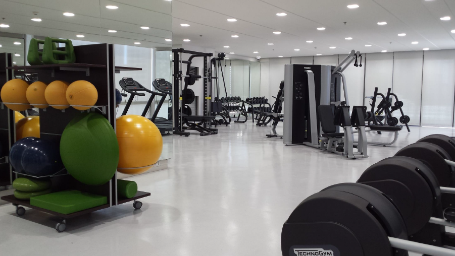 Enjoy Technogym at the Alveo Wellness Center