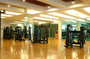 State of the art Technogym equipment at BF Homes