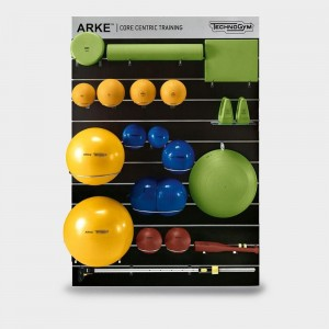Technogym's modern and colorful ARKE equipment for innovative workouts