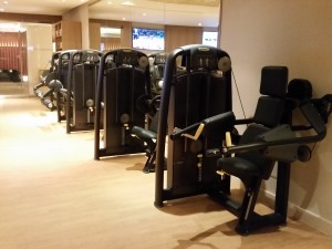 Technogym's innovative Strength Element+ workout equipment.