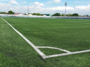 The Binan field features Limonta's Diamond 50 artificial turf.