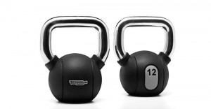 The Technogym Kettlebells is an effective way to work out your core muscles.