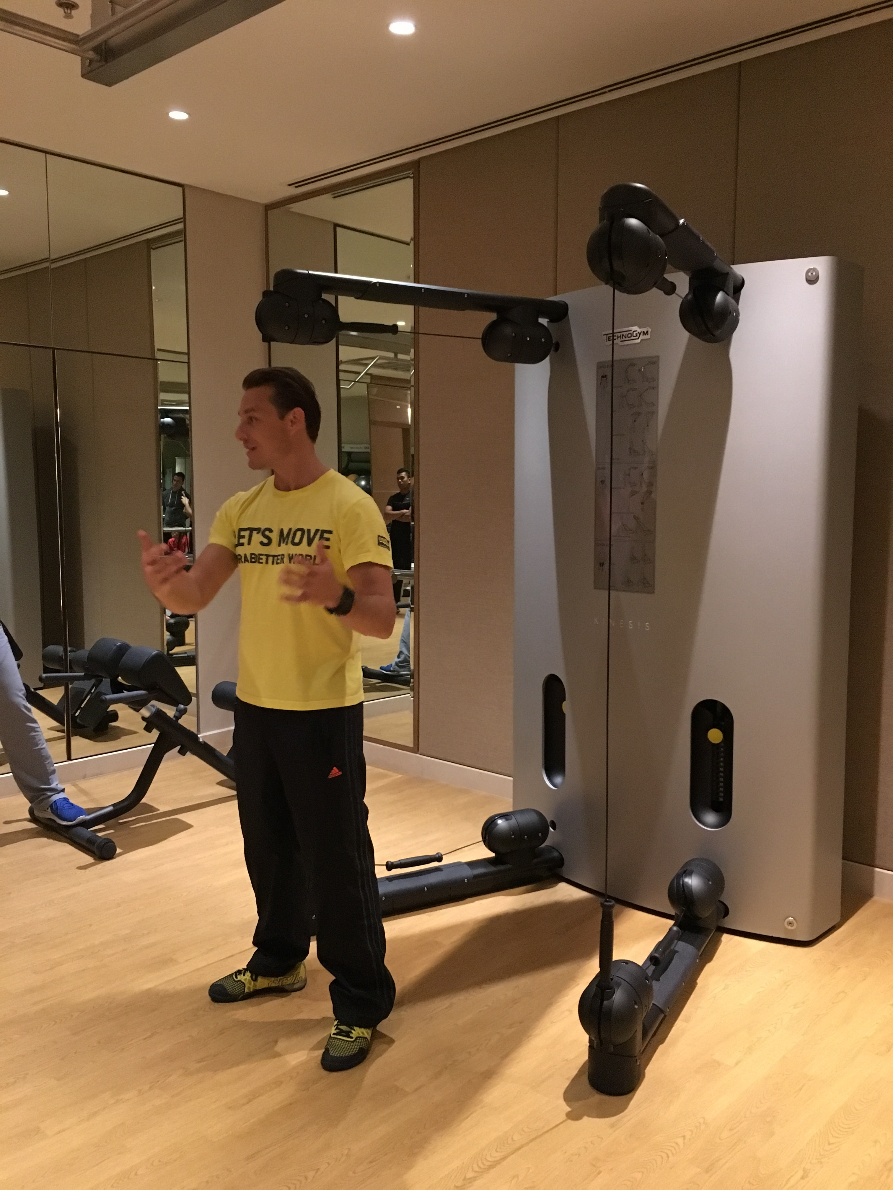 Training from technogym and e sports international