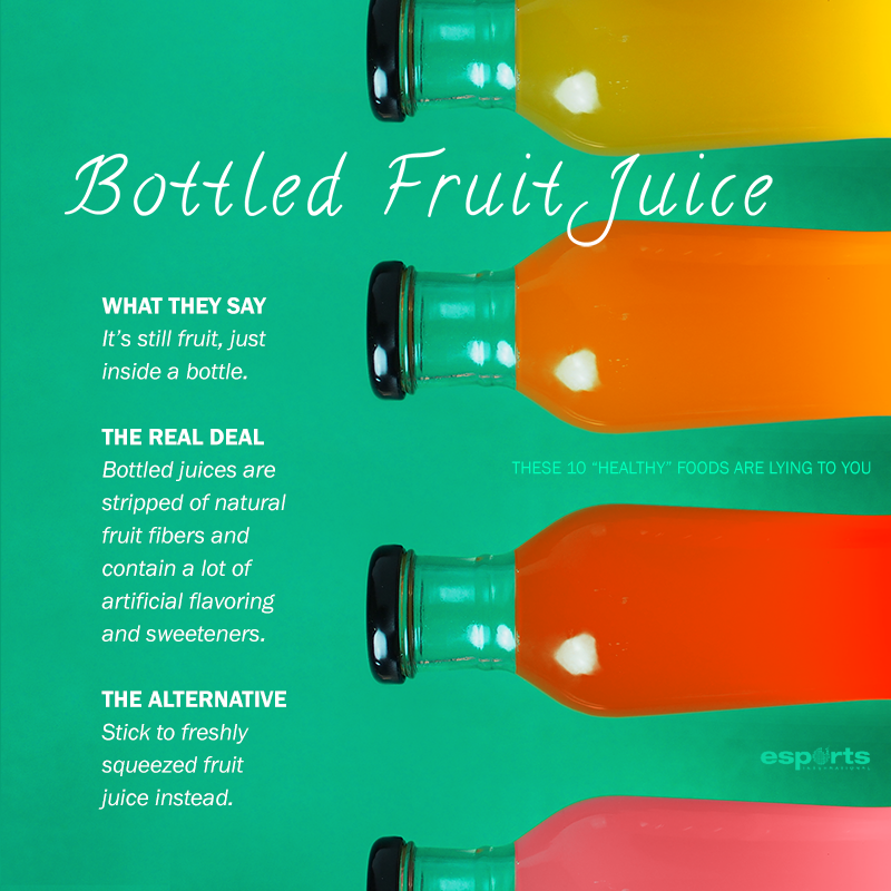10 Bottled Fruit Juice