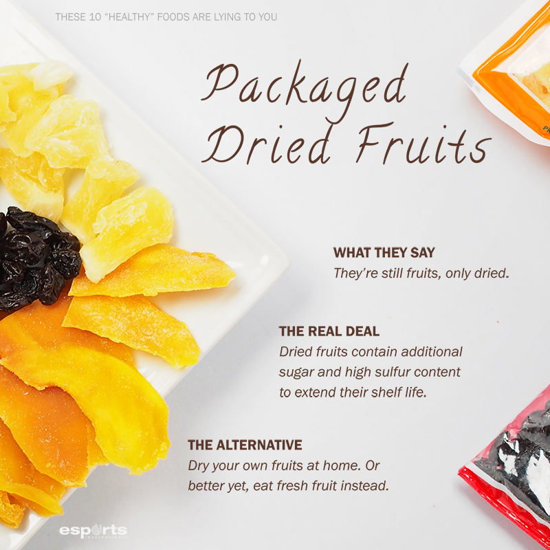 5 Dried Fruits