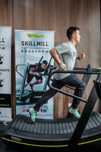 First Filipino astronaut and CrossFit coach Chino Roque says that training on the SKILLMILL can improve one's performance during WODs