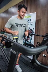 Elite athlete Benny Ledesma was impressed by how space-saving the SKILLMILL was