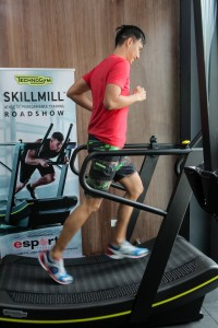 The SKILLMILL will also be showcased at various fitness facilities around the country